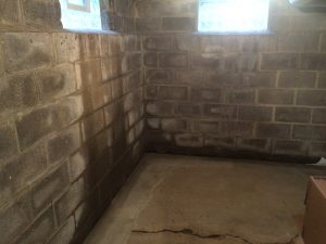 Interior waterproofing in basements is NOT effective, it still lets the water in, it just directs it to a drain. Basements stay damp which can lead to asthma and mold.