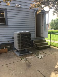 This IS the droid you're looking for! The outdoor unit for the Green Speed heat pump.