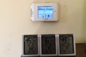 Calibrating an Ecobee thermostat and multiple temperature and relative humidity monitors