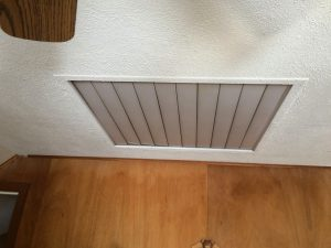Whole house fans are major air leaks, we take them out